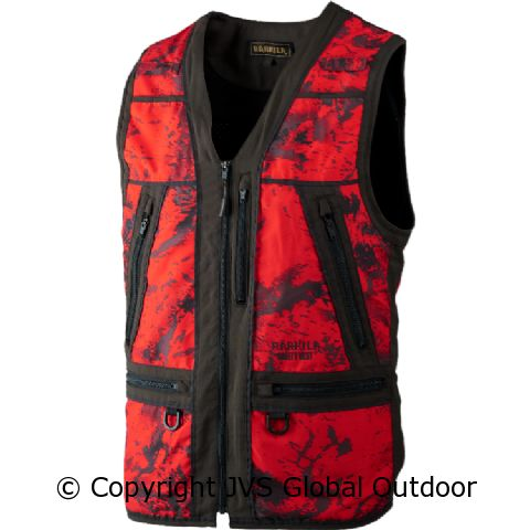 9383bfa3 Lynx Safety waistcoat AXIS MSP® Red Blaze/Shadow brown