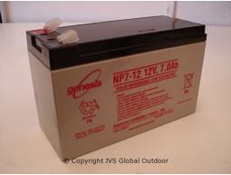 12 Volt -Batterie, aufladbar