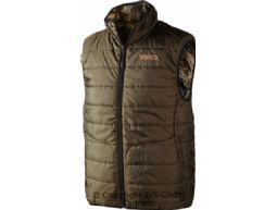 Arvik Reversible waistcoat  OPTIFADE™/Hunting green