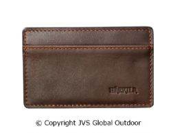 Credit card sleeve Dark brown - 10 x 5 x 0,5 cm