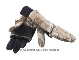 Deerhunter Halifax fleece glove camo