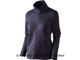 Disa Lady fleece jacket Purple melange