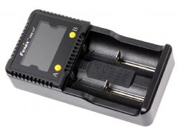 Dual bay battery charger for 18650 Batterijen