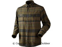 Eide shirt Dark olive check