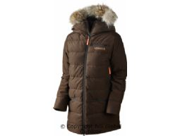 Expedition Down Lady jacket  Shadow brown