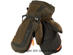 Expedition gloves  Hunting green/Shadow brown