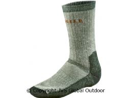 Expedition sock, short  Grey/Green