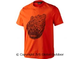 Fjal t-shirt  Flaming orange