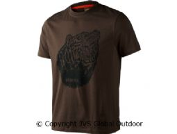 Fjal t-shirt Slate brown