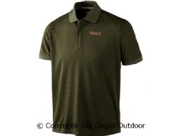Gerit polo shirt Dark olive