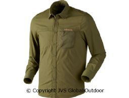 Herlet Tech shirt  Rifle green