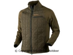 Hjartvar Insulated Hybrid jacket Willow green
