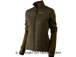 Hjartvar Insulated Hybrid Lady jacket Willow green
