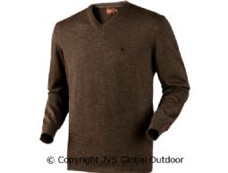 Jari pullover Shadow brown melange