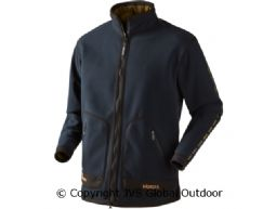 Kamko sporting fleece  Dark navy blue/Highland green