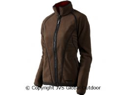 Kanu Lady fleece Red/Brown