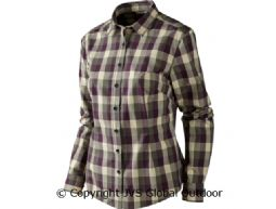 Lara Lady shirt  Plum perfect check