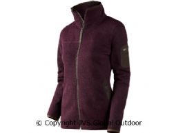 Lilja Lady cardigan Beetroot melange