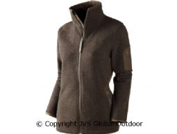 Lilja Lady cardigan  Shadow brown melange