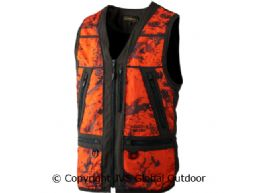 Lynx Safety waistcoat AXIS MSP® Orange Blaze/Shadow brown