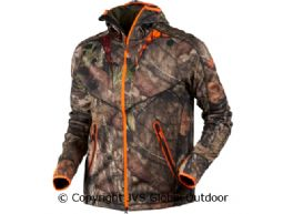 Moose Hunter fleece jacket MossyOak®Break-Up Country®/MossyOak®OrangeBlaze