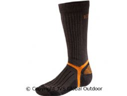 Mountain calf sock  Dark brown