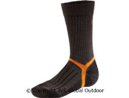 Mountain crew sock  Dark brown