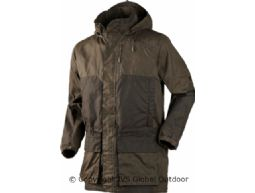 Mountain Trek Long jacket  Hunting green/Shadow brown