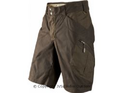 Mountain Trek shorts  Hunting green/Shadow brown