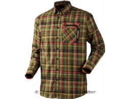 Härkila Newton shirt Jungle green check