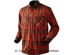 Pajala shirt Bright red check