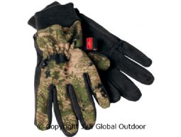 Q fleece Optifade™ Camo gloves  OPTIFADE™ Ground forest