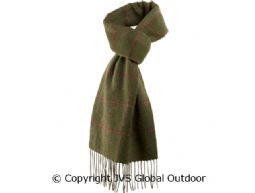 Romesdal wool scarf Warm olive