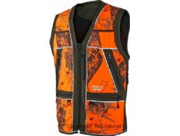Safety waistcoat  Green w/orange