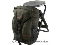 Salla rucksack chair Hunting green - 35 L