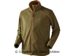 Sandhem fleece jacket Olive green melange