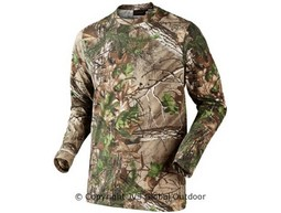Seeland Cam L/S T-shirt Realtree X-tra Green