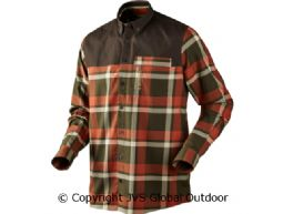 Skirner shirt  Burnt orange check