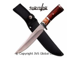 SURVIVOR HK-784 FIXED BLADE KNIFE 12