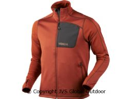 Svarin fleece jacket  Burnt orange