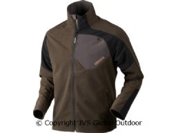 Thor fleece jacket  Shadow brown/Black