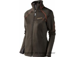 Thyra Lady fleece jacket  Shadow brown