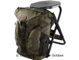 Tornio rucksack chair Green - 25 L