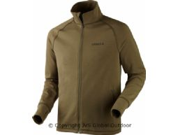 Triq full zip fleece  Dusty olive melange
