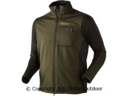 Vestmar Hybrid Fleece Jacket Rifle green melange