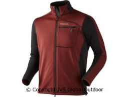 Vestmar Hybrid Fleece Jacket Syrah red melange