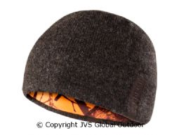 Viken Reversible beanie hat  Shadow brown melange